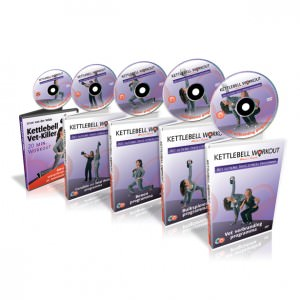 Kettlebell workout DVD box