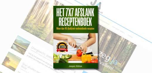 Review 7x7 afslank recepten boek (Jasper Alblas)