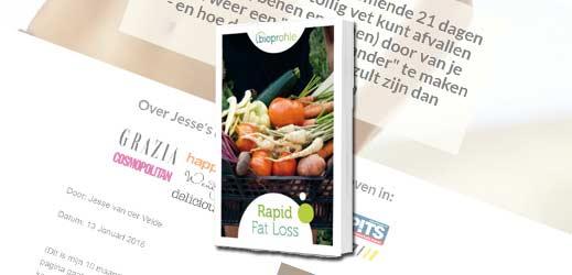 Reiew Rapid Fat loss - Jesse van der Velde